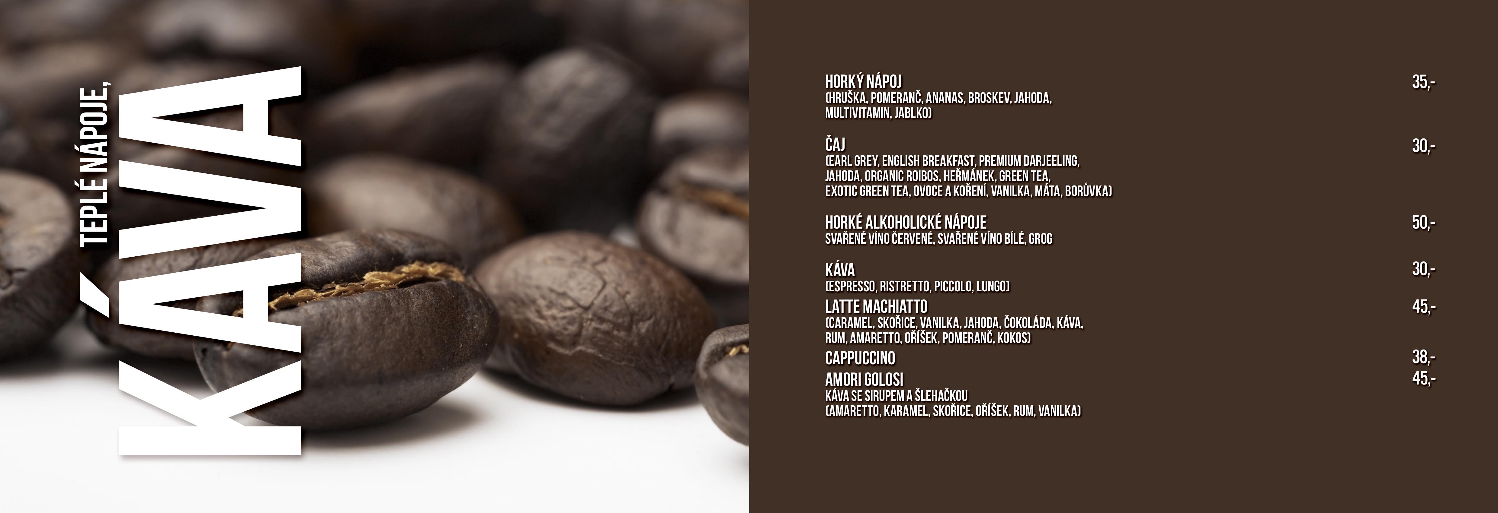 Café Maia menu