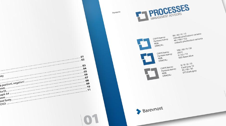 Processes brožura